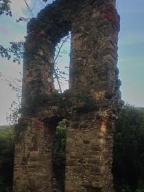 Ruinenwand der Stecklenburg